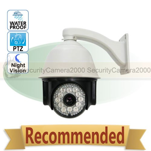30x Zoom PTZ High Speed CCTV Waterproof Dome Camera 8'' 150m IR Range(China (Mainland))