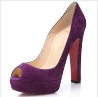 VSS1520  Free shipping 2012 New arrival hot sale fashion Ladies high heel summer sandals