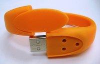 Freeshipping 1GB/2GB/4GB/8GB/16GB OEM LOGO Bracelet USB