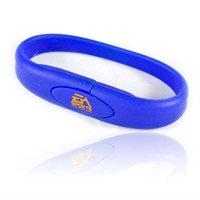 Bracelet USB Flash Drive 1GB/2GB/4GB/8GB/16GB OEM LOGO wristband usb flash disk,