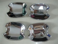 free shipping Volkswagen TIGUAN Stainless Steel door bowl cover ( wholesale/retail, post by EMS ,DHL,UPS,CPAM)
