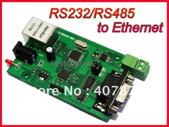 RS232 RS485 to TCP/IP Ethernet Serial Device Server NEW