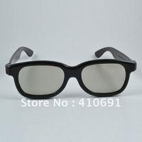 Free shipping 10pcs/lot Circular Polarized plastic disposable 3d glasses