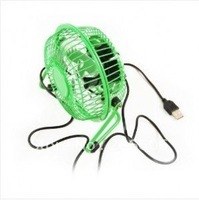 free shipping 2012 New hot novel metal portable usb mini fan(A24-3123)