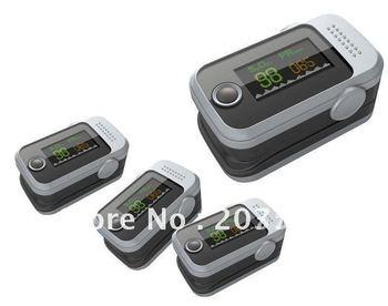 Finger Pulse Oximeter finger oximeter with Alarm OLED Display Blood Oxygen Spo2 monitor