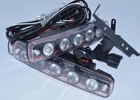 Светодиодное освещение A pair 5 LED daytime Running Light DRL Waterproof Eagle Eye Lamp Fog Light