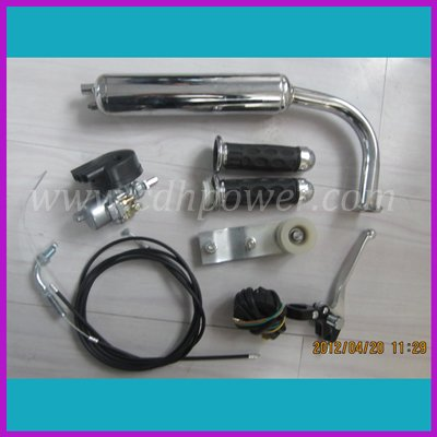 2012 Hot Sale Bicycle Engine Kits/gas motor kits/ A80(CDH50cc) Chromed(China (Mainland))