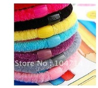 The popularity of hair joker high elastic candy colors circle RongRong hair color immediately