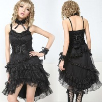 Dolly Gothic Punk Lolita Lace Party Dress 61163
