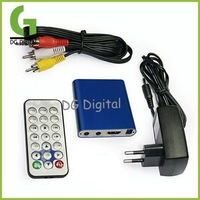 Portable multifunction Mini KMV Media Player Divx & ISO HDMI Media Player+Free Shipping