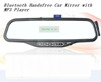 driver lover ATM08--Bluetooth Handsfree Car Mirror with MP3 Player caller id display
