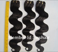 Virgin remy Brazilian hair extension, hair weave