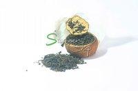 orange puer tea 200g(6-8pcs accroding to the orange size), new taste of puer tea, fresh orange taste of pu erh tea