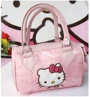 free shipping Cute Tote Pink Bag Hello Kitty Women Tote Handbag