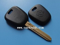 Suzuki transponder key shell key case remote key housing