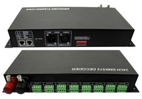 24 channel dmx constant voltage decoder,DC12-24V input,3A*24channel output;LN-DMXTCON-24CH-DC12-24V