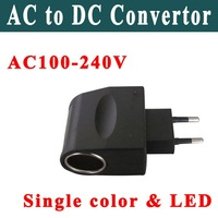 Free shipping AC to DC convertor,AC to Cigar convertor It is easy to use in family Brand new and high quality