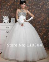 2012 ultra flash high-grade diamond wedding fashion shiny wedding