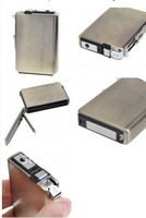 2-in-1 Cigarette Case with Butane Jet Torch Lighter - BMW (Holds 8 Cigarettes)