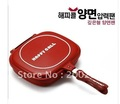 2012 brand new   Double sided pressure frying pan happycall non-stick non stick cooker happy call