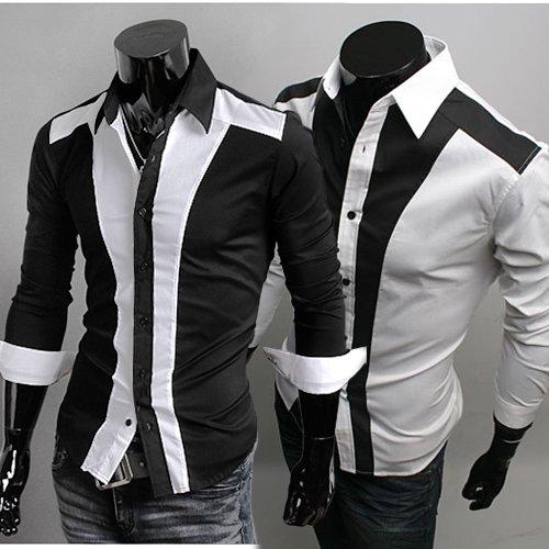 Мужская повседневная рубашка Jogal 2 , XS, S, M, L 3256 мужской тренч jogal xs s m l 2994