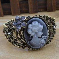 Мода украшения колье воротник кожаный цепи золотой череп панк ожерелье женщин платье n621