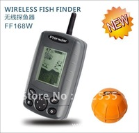 4 Levels Grayscale Portable Wireless fish Finder Remote receiver 60-80 meters depth of 36 meters,built-in lithium battery sensor