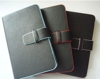 Free shipping - Synthetic Leather Case Cover with Stand for 7 Inch Tablet PC - Black