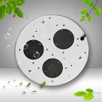 LED grow light Free Shipping byDHL/EMS New 90W UFO LED Plant Grow Light