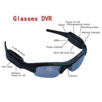 Free shipping Mini DV DVR Sun Glasses  Camera Audio Video Recorder#8170