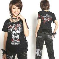 PUNK VISUAL KEI ROCK 71080 TEE CHAIN T-shirt