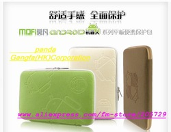 Free Shipping MoFan robot Zipper 9.7&quot;/10&quot; tablet computer bags;eight different color;need 7&quot;and 8 inch Come in store to see(China (Mainland))