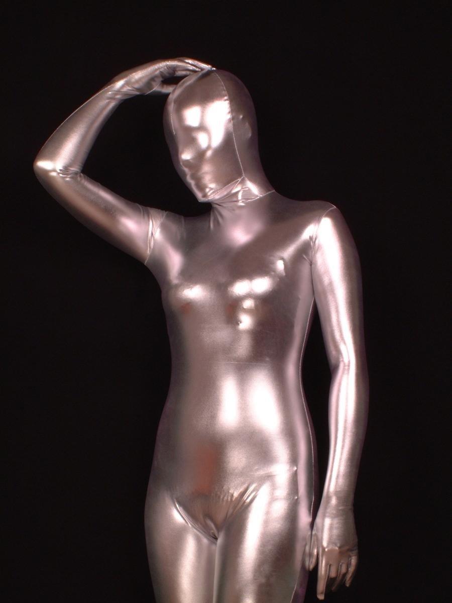 Plata spandex vestido porno