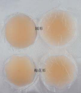 Free shipping.Silica gel bra stick contact bra silica gel chest nipple posted. plum blossom and round shape.(China (Mainland))