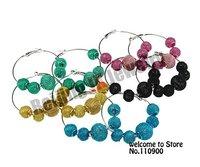 Скидка 60%, $0.99/ПК shamballa браслет, охраны окружающей среды бусины сплава алмаз & бусины гематит, смешанные цвета