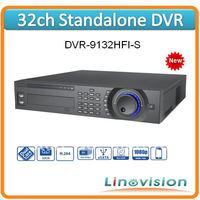 Wholesale 32ch New generation 1080P 2U Standalone DVR support realtime D1 recording, DVR-9132HFI-S