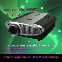Sell projector full HD projector 3D projector LED projector lingtness:2200 lumens