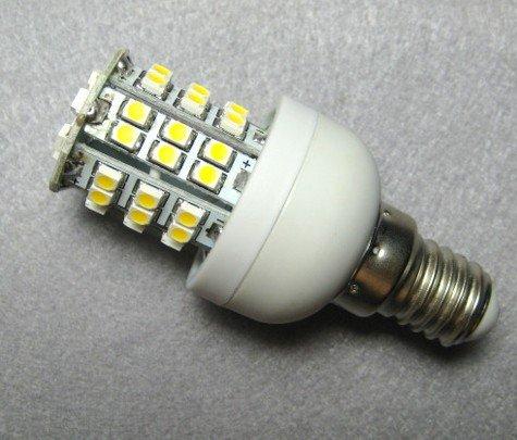 Hot selling !! 20pcs/lot E14 SMD 48 led Day White/Warm White High Power LED Light Bulbs Lamp Spotlight bulb (Free Shipping)(China (Mainland))