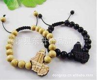 Good Wood/Jesus head bracelet adorn article Hiphop / / hip-hop woodiness pendant bracelet