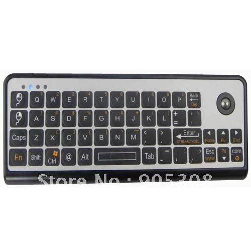 3-in-1 Mini 2.4GHz Wireless Keyboard + Laser