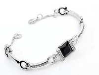 Bracelet Jewelry Supplier Personalized  Silver Women  Rhinestone Cuff  Bracelet