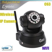 Freeshipping Wireless WI-FI IP Camera IR LED 2-Way Audio Nightvision CCTV camera C63