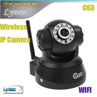 Freeshipping Wireless WI-FI IP Camera IR LED 2-Way Audio Nightvision CCTV camera C63