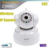 Freeshipping Hot 2-Audio EasyN Wireless IR webcam Web CCTV Camera Wifi Network IP camera  IR camera white color C62