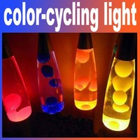 Free shipping 1pcs/lot Illuminant lamp lava lamps lava light color-cycling light for home decoration&Bar Restaurants