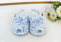 Free Shipping 1pairs Fashion High Quality Bowtie polka dot Baby Shoes, Beautiful Baby Girls Clothing, Loafer Children Shoes