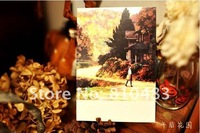 Free shipping  wholesale 120pcs/lot 140*96mm 350g paper Post Card  Greeting card