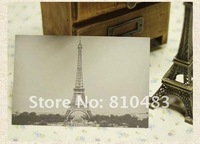 Free shipping by CPA wholesale 10sets/lot(160pcs/lot) Eiffel Town Design Post Card