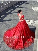 Wedding dress tailored to map custom wedding long tail ++28