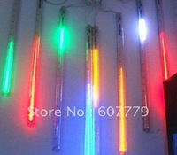 2M 8 X Column (30 Led each Column 50CM longth ) String LED Meteor Rain Light mul-color